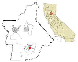 Oroville Ca Map South Oroville California Wikipedia