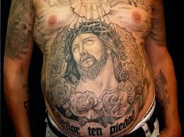 26 original stomach tattoos for men