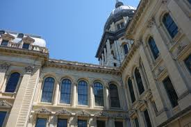 Springfield Il Zip Code Map by Sites U0026 Attractions Illinois State Capitol