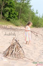 montessori tree printable montessori pracitcal life checklist printable sugar spice and