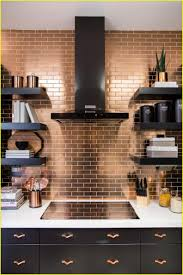copper backsplash for kitchen kitchen backsplashes copper tiles for kitchen backsplash lovely