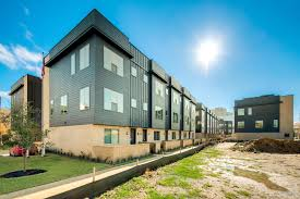 flora street townhomes new homes in dallas fort worth tx