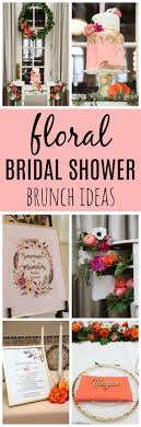 themed bridal shower ideas floral themed bridal shower brunch bridal shower ideas