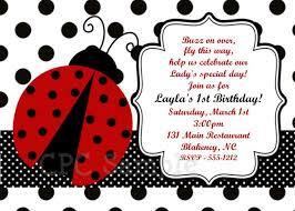 colors printable ladybug birthday invitations free template with