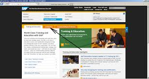 how to register for sap certification sap training and