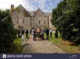 wedding guests at y faenol fawr country house hotel bodelwyddan