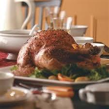 garlic and herb roasted turkey recipe taste of home