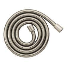 hansgrohe techniflex 63 in rubber hand shower hose in brushed rubber hand shower hose in brushed nickel