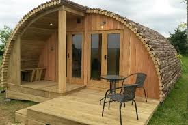 pod houses family gling pod and garden room office geodome plans