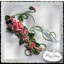 silk ribbon embroidery silk ribbon embroidery custom monogram bridal bag silk rib flickr