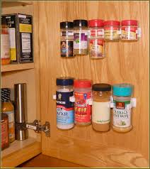 Kitchen Cabinet Door Spice Rack Inside Kitchen Cabinet Organizers Home Design Ideas