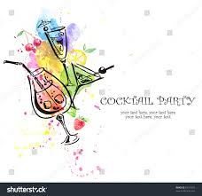 cocktail party invitation stock illustration 83119375 shutterstock