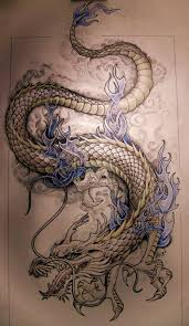 24 dragon tattoos on stomach