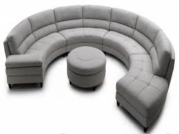 Curved Settees And Sofas by Sofas Fabulous Circular Sectional Sofa Round Loveseat Sofa
