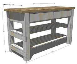 kitchen island cart plans want to use and modify these plans to build a folding table for