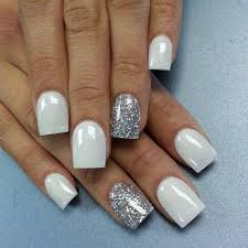 best 25 white and silver nails ideas on pinterest silver nail