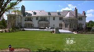 large mansions living large 14 million mansion in brookville long island cbs