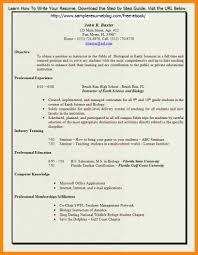 Teacher Resume Samples In Word Format by Free Teacher Resume Template Resume For Your Job Application