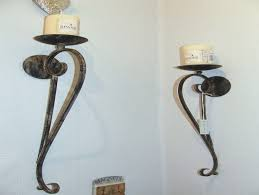 Non Electric Wall Sconces Wrought Iron Wall Sconces Non Electric Archives
