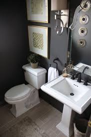 Popular Powder Room Paint Colors Best 25 Black Powder Room Ideas On Pinterest Black Bathroom
