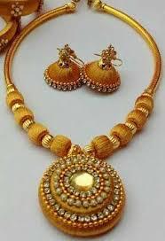 necklace sets images Silk thread necklace sets at rs 170 set silk thread necklace jpg