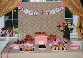decorating ideas for baby showers dessert table house design and