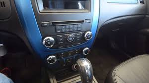 2011 Ford Fusion Interior 2011 Ford Fusion Sport V6 Blue Stk 3717a For Sale At Trend