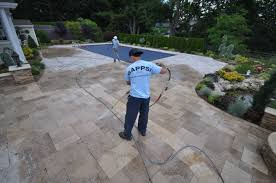 Best Sealer For Flagstone Patio by Long Island Ny Stone Patios U0026 Driveways Cleaning U0026 Sealing Gappsi