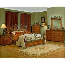 great furnitures rustic old world iron wood queen master bedroom