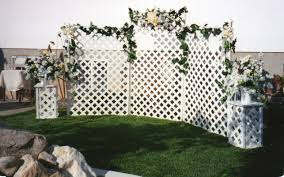 wedding backdrop outdoor five ways to enhance outdoor wedding décor