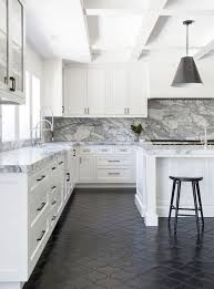 white kitchen cabinets black tile floor marvelous black tile bathroom floor and 25 best tile