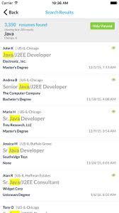 careerbuilder resume database careerbuilder for employers on the app store