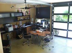 Garage Office   transform your garage into a home office haven stylists garage