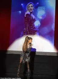Ariana Grande Costume Halloween Ariana Grande U0027beyond Excited U0027 Wear Madonna U0027s Rebel Heart Tour