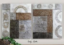 Uttermost Artwork Uttermost Artwork Reproduction Connection I Ii Set Of 2 Wall Art