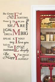 Quotes For Dining Room by Best 25 Family Wall Quotes Ideas On Pinterest Word Wall Decor