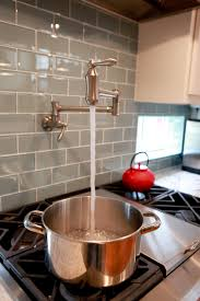 kitchens faucet kitchen tile backsplash home style kitchens stove