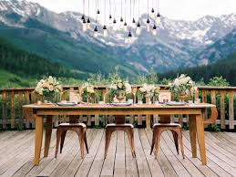mountain wedding modern mountain wedding ideas elizabeth designs the