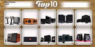 haut parleur pour ordinateur de bureau top 10 des meilleures enceintes multimédias pour pc de 2017 2018