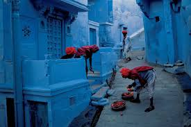 The Blue City Morocco by Chefchaouen Painted Blue During The 1930 U0027s Famous As Center Of