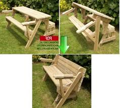 Picnic Table Plans Free Pdf by Folding Bench And Picnic Table Combo Free Plans Militariart Com