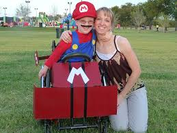 cassie mclelland dresses up son caleb u0027s wheelchair for halloween