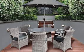 6 seater outdoor dining table 6 seat rattan patio furniture set patio furniture conversation