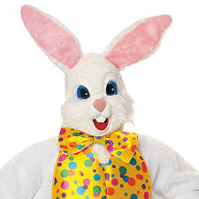 easter bunny costume deluxe easter bunny suit one size walmart