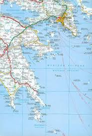 Greece Maps by Map Of The Saronic And Argolic Gulfs Athens