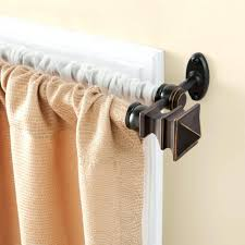 Decorative Functional Traverse Curtain Rods by Curtains 7 Inch Curtain Rod Brackets Double Curtain Rods Curtain