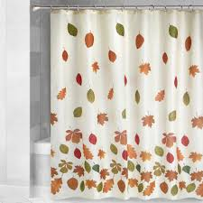 Hawaiian Print Shower Curtains by Fall Leaves Shower Curtain Christmas Tree Shops Andthat