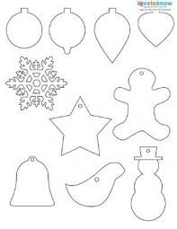 shapes to print ornament ornament and