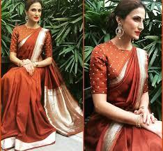 saree blouse styles 25 silk saree blouse designs for wedding season bling sparkle