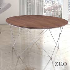 coffee table walnut macho coffee table walnut 404070 zuo mod metropolitandecor